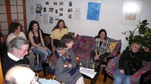 Publikum bei der Lesung von Stephan Eibel Erzberg
