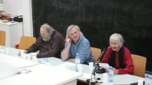 Rolf Schwendter, Fritz Widhalm, Karin Spielhofer