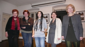 Susanne Schneider, Andrea Stift, Cornelia Travnicek, Eva Jancak, Ruth Aspöck