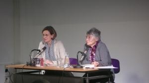 Ursula Seeber und Ruth Klüger