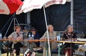 Judith Gruber-Rizy, Eva Jancak, Ruth Aspöck, Helga Pankratz