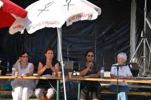 Susanne Ayoub, Gertraud Klemm, Grace Marta Latigo, Traude Veran