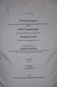 T-Shirt v. Rudolf Lasselsberger