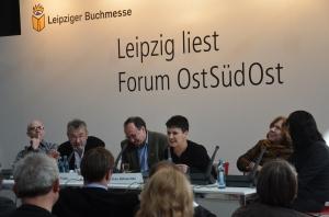 Martin Pollack, Robert Traba und Oksana Sabuschko