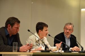 Robert Reinagl, Oksana Sabuschko, Martin Pollack