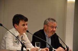Oksana Sabuschko, Martin Pollack