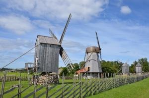 Saaremaa, Windmühlenmuseum