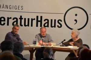 Ilija Trojanow, Klaus Zeyringer, Barbara Coudenhove-Kalergi