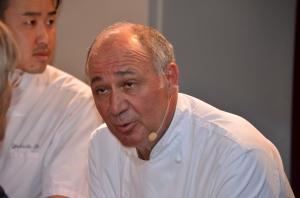 Marc Haeberlin auf der Weinmesse in Colmar