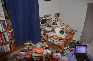 Bücherunfall