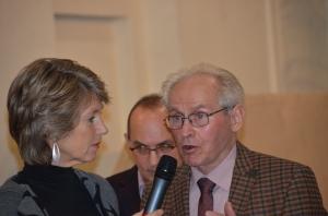 Barbara Rett, Robert Streibel und Vater