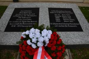 Gedenkstein für die Bediensteten in Stein