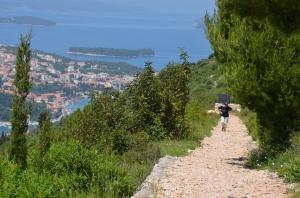Dubrovnik, Aufstieg auf den Brdo Srd