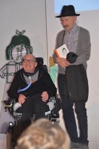 Franz-Joseph Huainigg mit Verleger Richard Pils