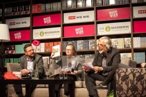 Simon Hadler, Ruth Oberhuber, Ludwig Laher ©Teresa Novotny
