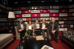 Simon Hadler, Eva Jancak, Ruth Oberhuber, Germain Weber, Ludwig Laher ©Teresa Novotny