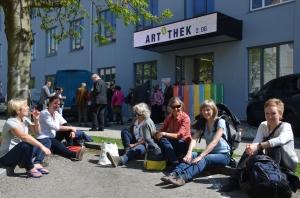 VorarlbergerInnen bei Literatur und Wein