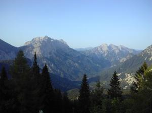 Morgenblick von der Ennstalerhütte