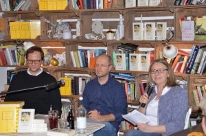 Christian Bangel, Klaus Cäsar Zehrer, Bozena Anna Badura