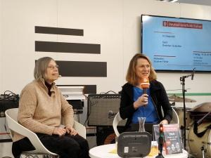 Gretchen Dutschke im Gespräch mit Susanne Führer
