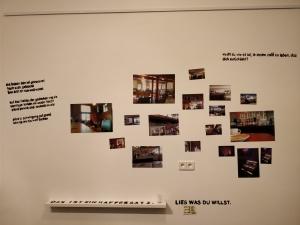 """Ausstellung """"cafe gerstl to go"""" in der SFD"""