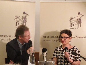 Doron Rabinovici und Olga Flor