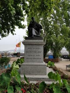 Rousseau-Denkmal in Genf
