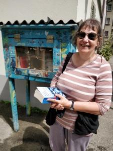 Bücherschrank in Fribourg