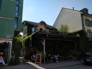 "Lokal ""Wartesaal"" in Bern"