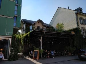 "Lokal ""Wartesaal"" in Bern"