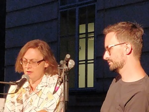 Daniela Strigl, David Fuchs