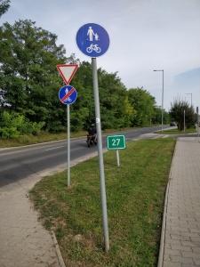 Ein kurzer Radweg von Sopron nach Balf